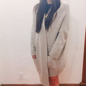 Dex oversized cardigan
